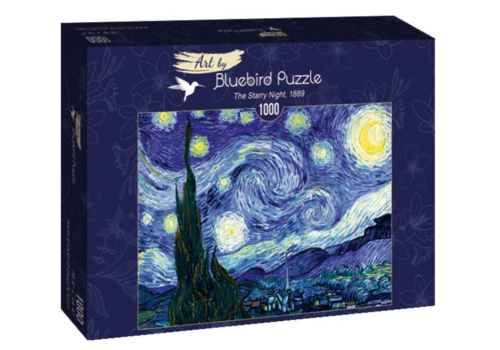 Bluebird Puzzle Vincent Van Gogh - The Starry Night - 1000 pieces