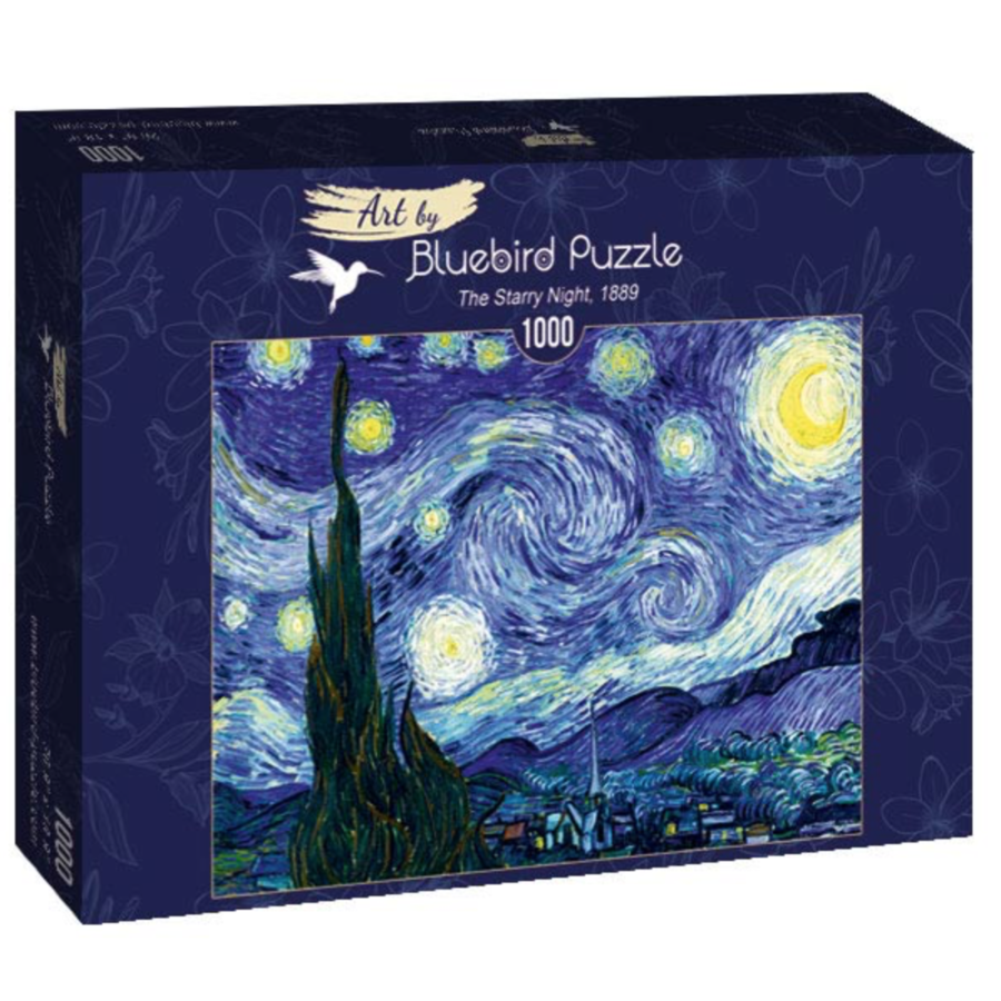 Vincent Van Gogh - Sterrennacht - 1000 stukjes-1