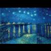Bluebird Puzzle Vincent Van Gogh - Sterrennacht over de Rhone - 1000 stukjes