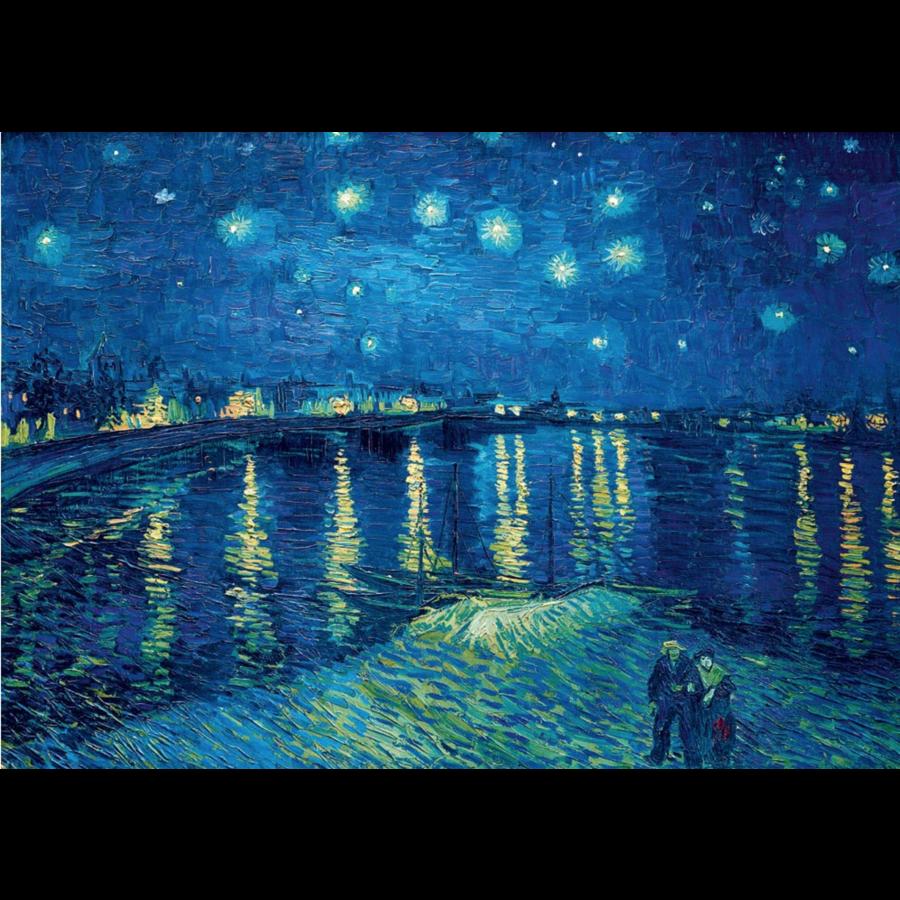 Vincent Van Gogh - Sterrennacht over de Rhone - 1000 stukjes-1