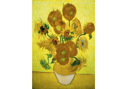 Bluebird Puzzle Vincent Van Gogh - Sunflowers - 1000 pieces