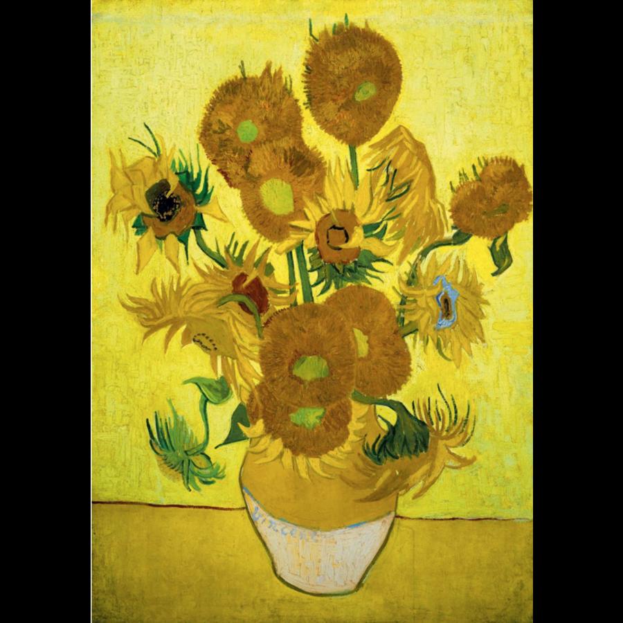 Vincent Van Gogh - Zonnebloemen - 1000 stukjes-1