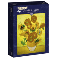 thumb-Vincent Van Gogh - Zonnebloemen - 1000 stukjes-2