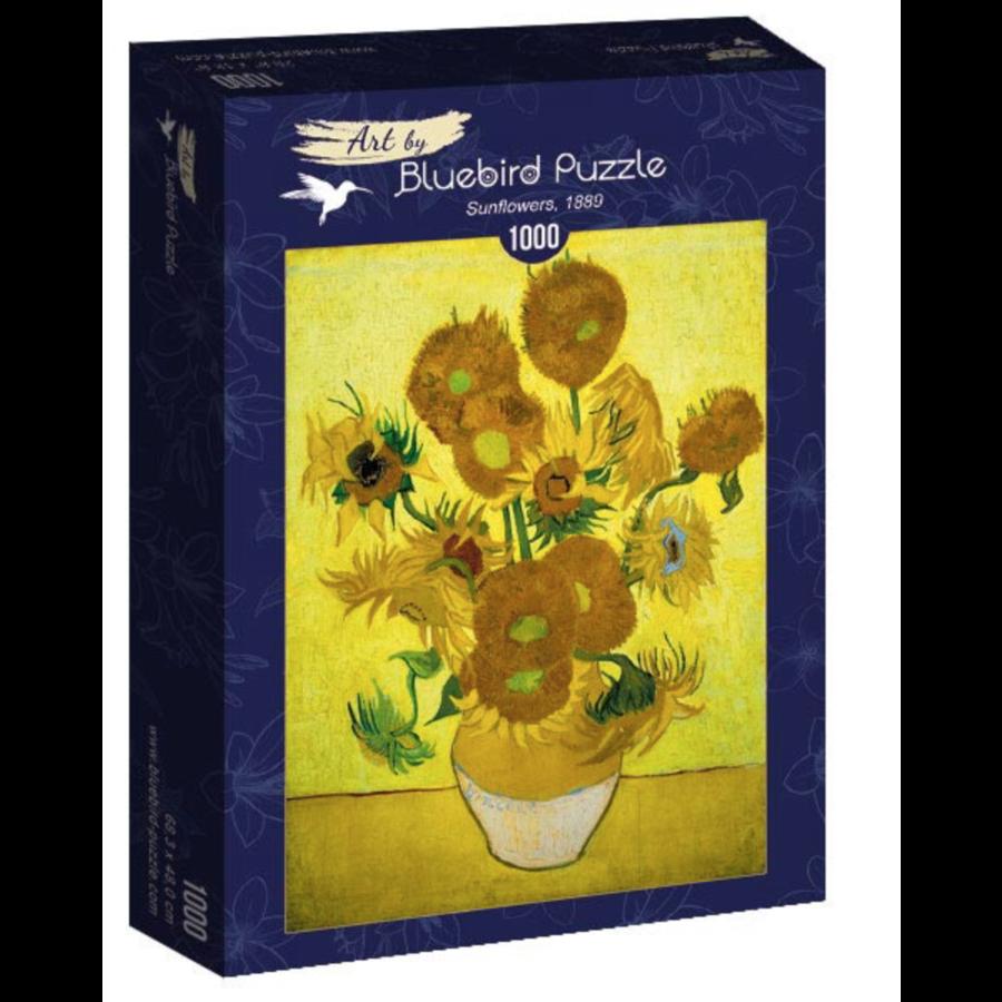 Vincent Van Gogh - Zonnebloemen - 1000 stukjes-2