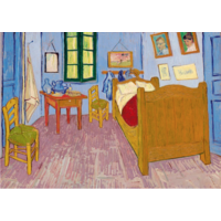 thumb-Vincent Van Gogh - Slaapkamer in Arles - 1000 stukjes-1