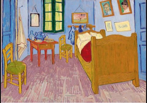 Bluebird Puzzle Vincent Van Gogh - Slaapkamer in Arles - 1000 stukjes