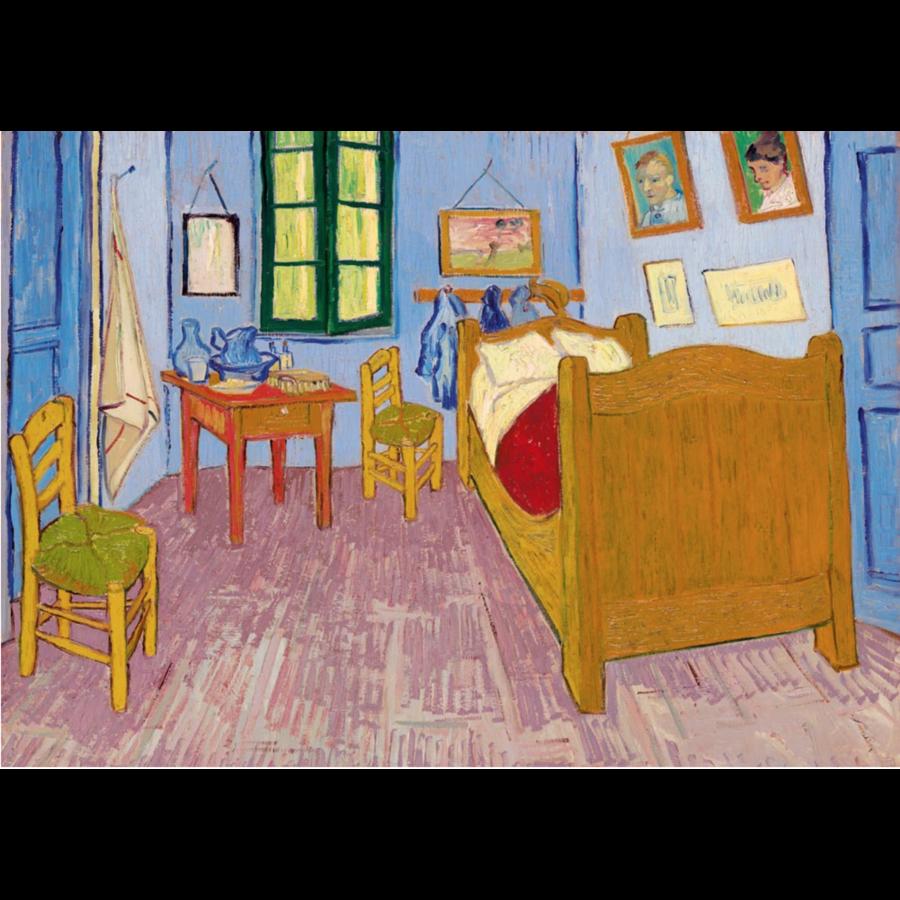 Vincent Van Gogh - Slaapkamer in Arles - 1000 stukjes-1