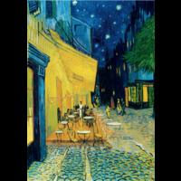 thumb-Vincent Van Gogh - Nachtcafé - 1000 stukjes-1