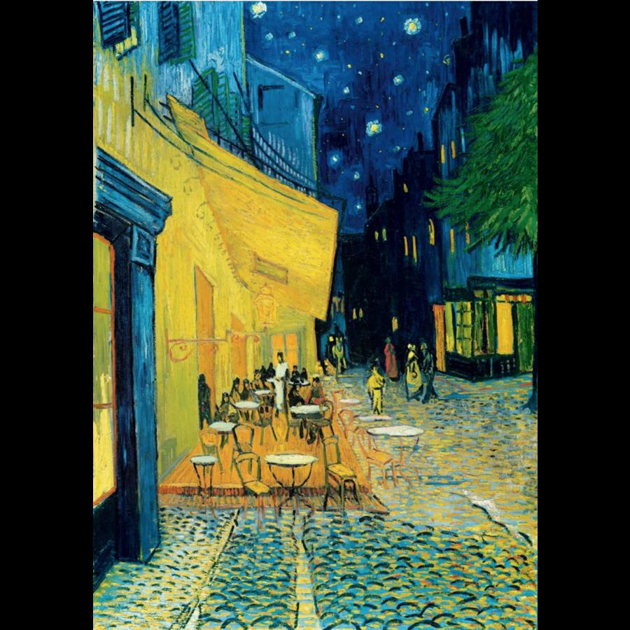 Vincent Van Gogh - Nachtcafé - 1000 stukjes-1