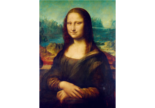 Bluebird Puzzle Leonardo Da Vinci - Mona Lisa - 1000 stukjes