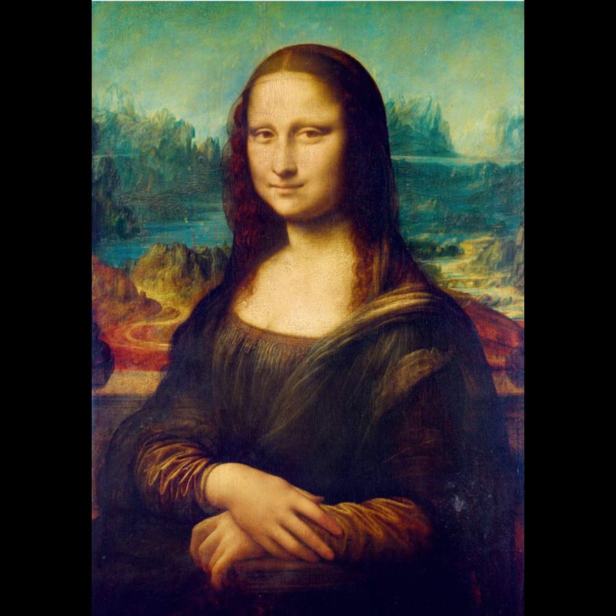Leonardo Da Vinci - Mona Lisa - 1000 stukjes-1