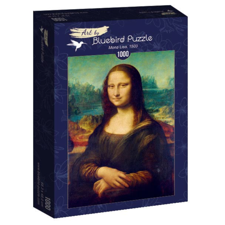 Leonardo Da Vinci - Mona Lisa - 1000 stukjes-2