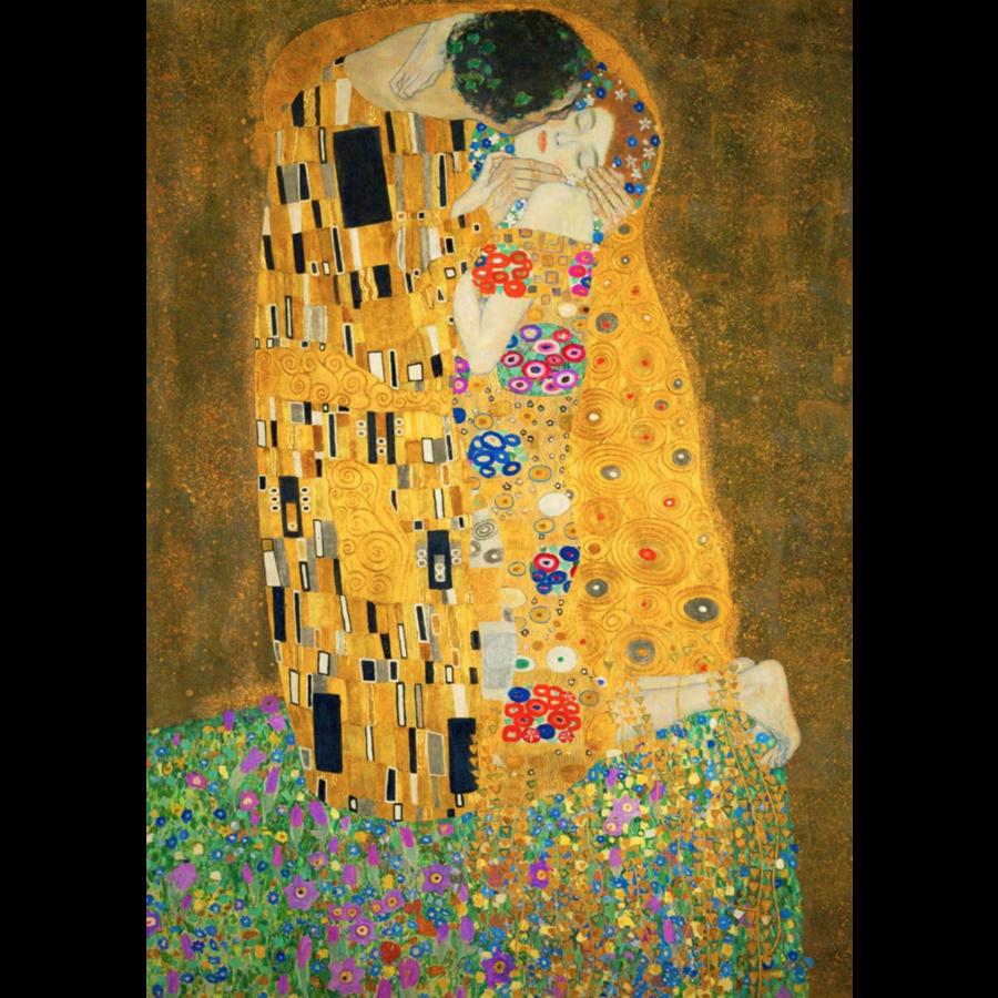 Gustave Klimt - De Kus - 1000 stukjes-1