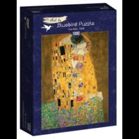 thumb-Gustave Klimt - De Kus - 1000 stukjes-2