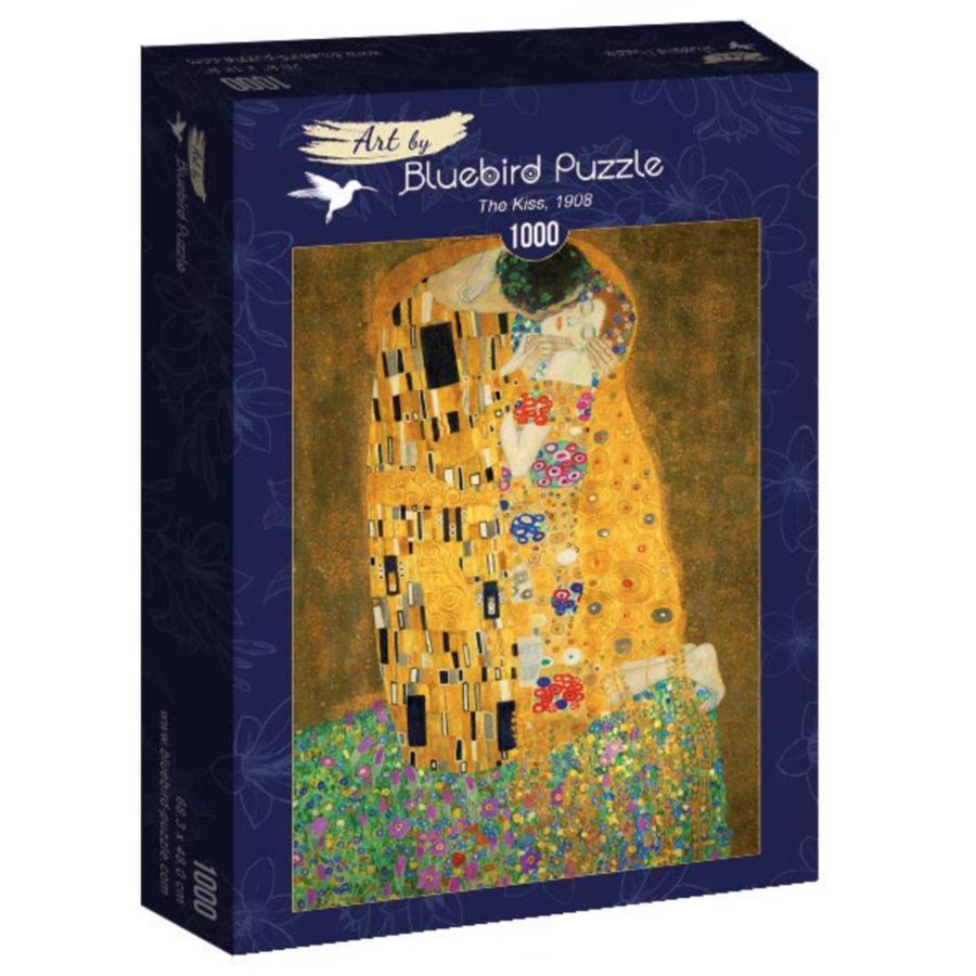 Gustave Klimt - De Kus - 1000 stukjes-2