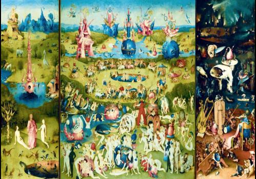 Bluebird Puzzle Jheronimus Bosch - Garden of Earthly Delights - 1000 pieces