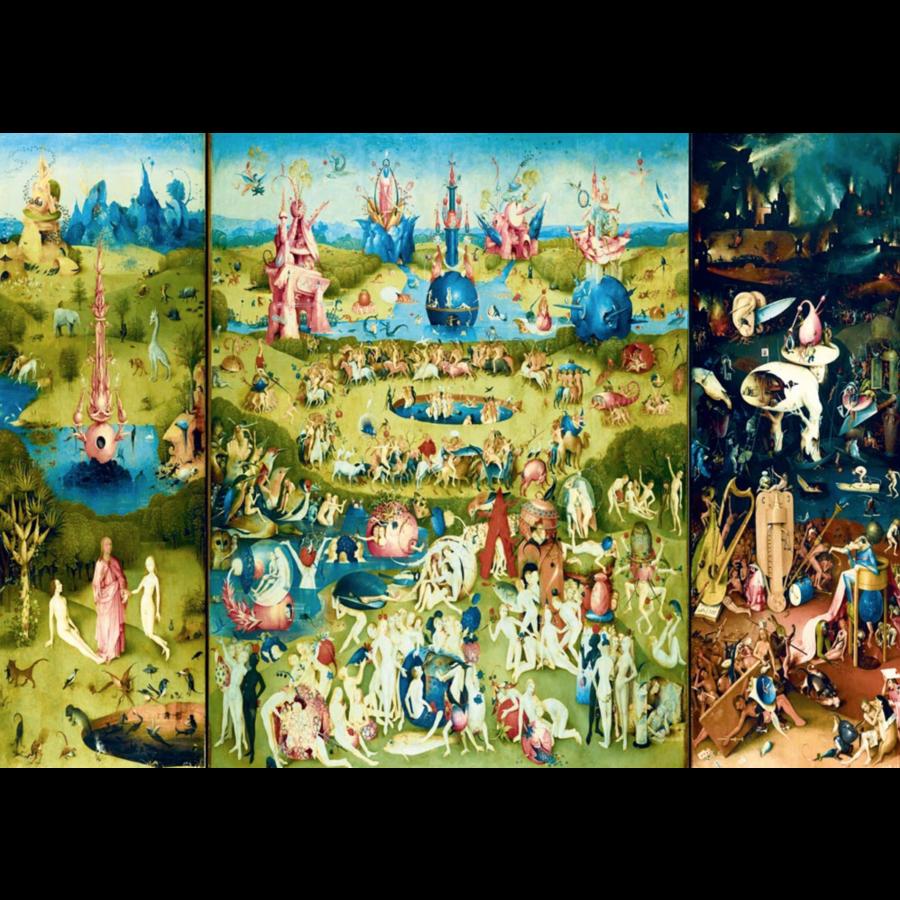 Jheronimus Bosch - Tuin der Lusten - 1000 stukjes-1