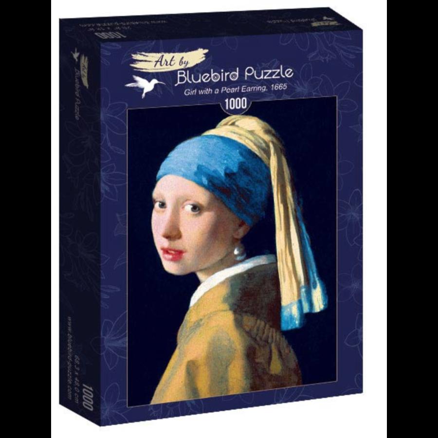 Vermeer - Het meisje met de parel - 1000 stukjes-2