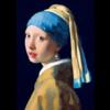 Bluebird Puzzle Vermeer - Het meisje met de parel - 1000 stukjes