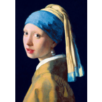 thumb-Vermeer - Het meisje met de parel - 1000 stukjes-1