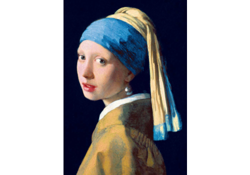 Bluebird Puzzle Vermeer - Girl with a pearl earring - 1000 pieces