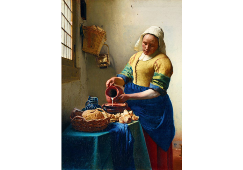 Bluebird Puzzle Vermeer - The Milkmaid - 1000 pieces