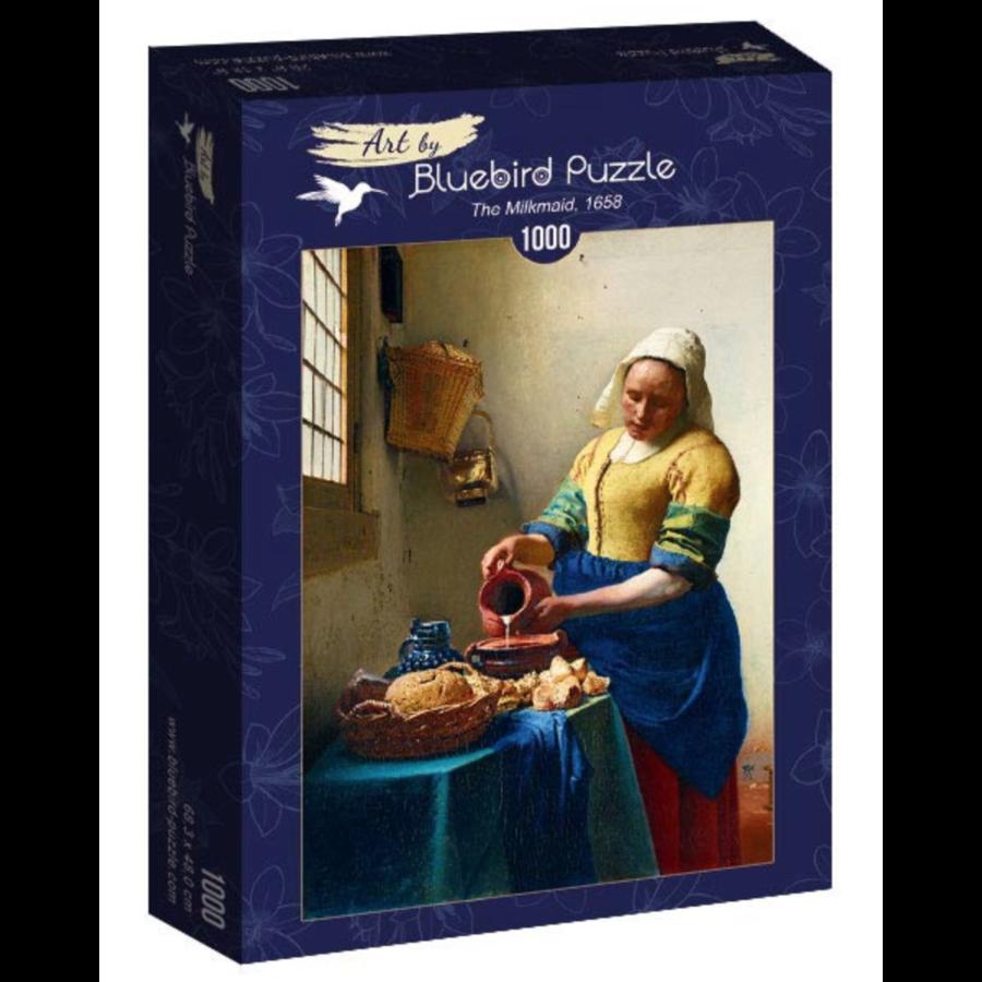 Vermeer - Het melkmeisje - 1000 stukjes-2