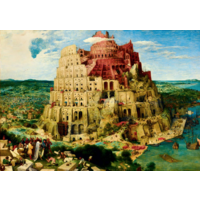 thumb-Pieter Bruegel - Tour de Babel - 1000 pièces-1
