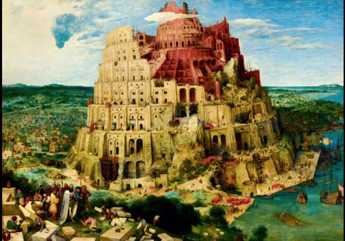 Bluebird Puzzle Pieter Bruegel - Tower of Babel - 1000 pieces