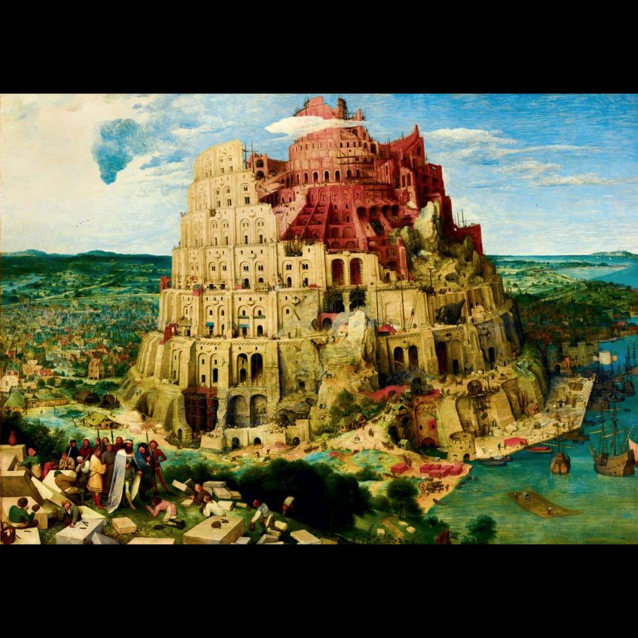 Pieter Bruegel - Tour de Babel - 1000 pièces-1