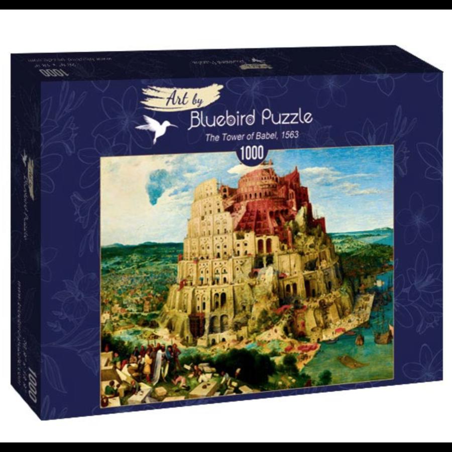 Pieter Bruegel - Toren van Babel - 1000 stukjes-2