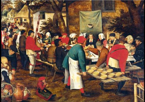 Bluebird Puzzle Pieter Bruegel - Peasant Wedding Feast - 1000 pieces