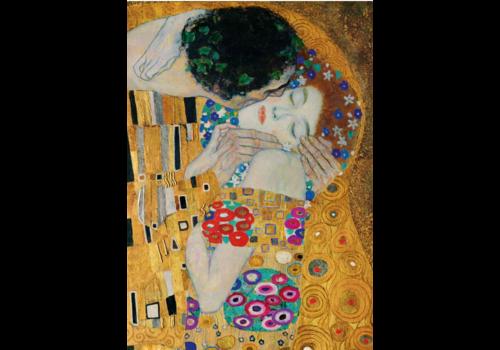 Bluebird Puzzle Gustave Klimt - The  Kiss  (Detail)- 1000 pieces