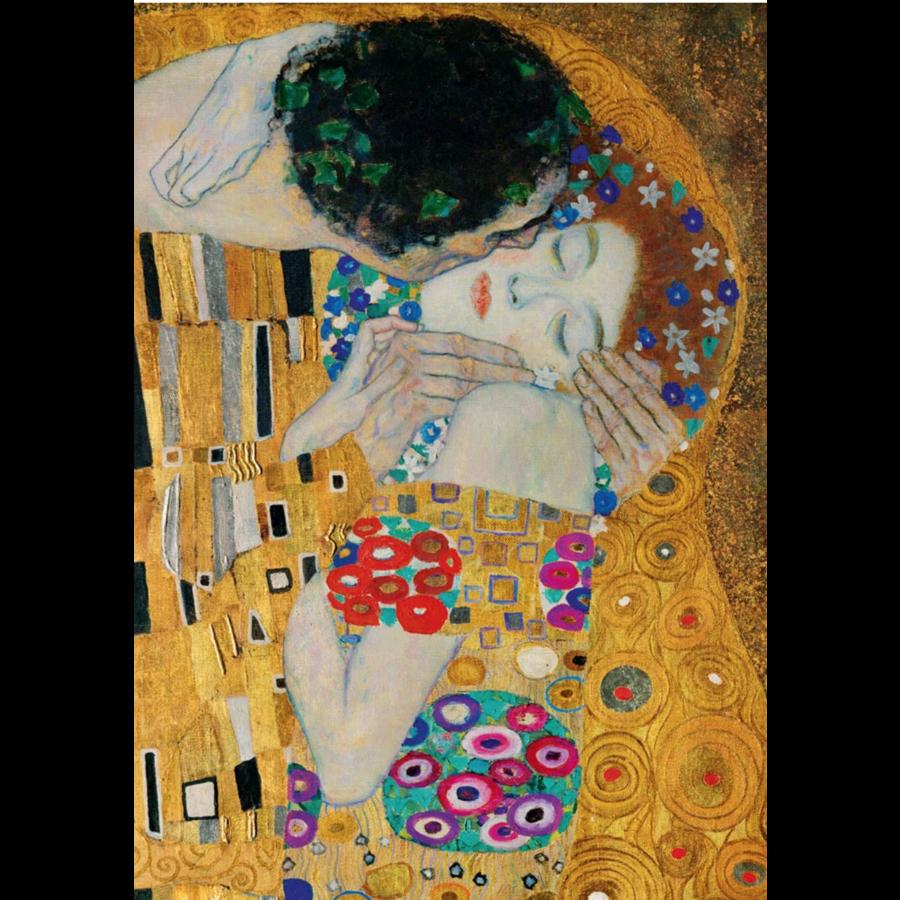 Gustave Klimt - Le Baiser (Détail) - 1000 pièces-1