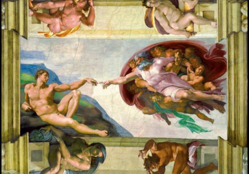 Bluebird Puzzle Michelangelo - De creatie van Adam - 1000 stukjes
