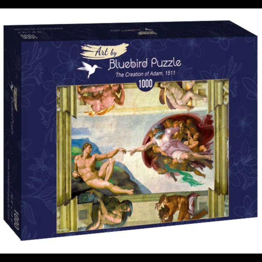 Michelangelo - De creatie van Adam - 1000 stukjes-2