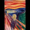 Bluebird Puzzle Munch - De Schreeuw - 1000 stukjes