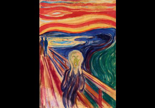 Bluebird Puzzle Munch - The Scream - 1000 pieces