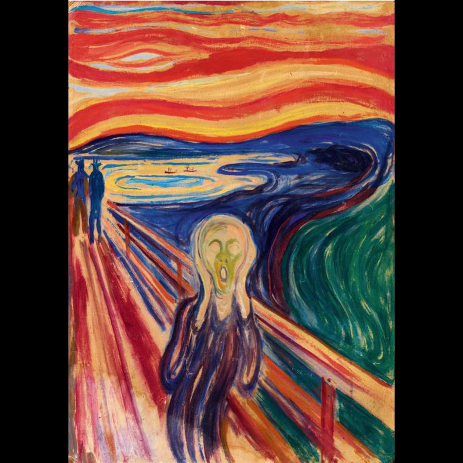 Munch - De Schreeuw - 1000 stukjes-1