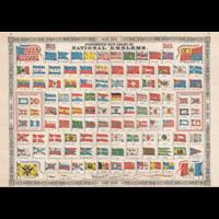 Nationale emblemen  - 1000 stukjes