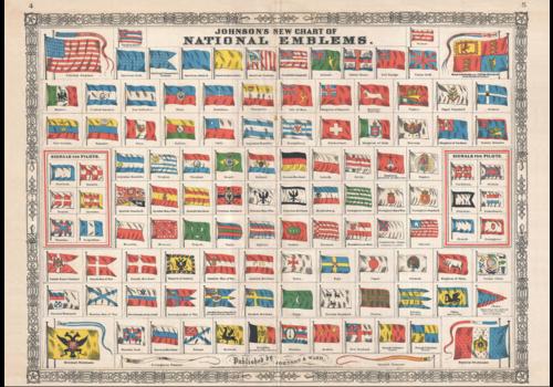 Piatnik Nationale emblemen  - 1000 stukjes