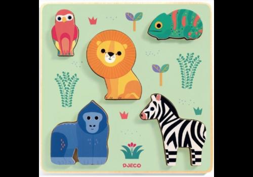 Djeco Wild animals - 5 pieces