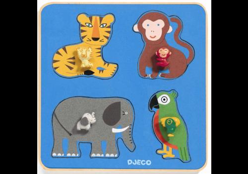Djeco La famille Jungle - 4 pièces