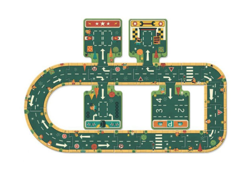 Djeco Build your road yourself - 21 pieces