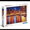 Clementoni Amsterdam - puzzel van 500 stukjes