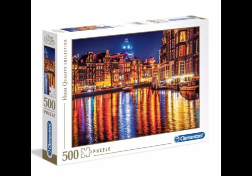 Clementoni Amsterdam - 500 stukjes
