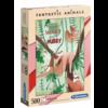 Clementoni De luiaards - 500 stukjes