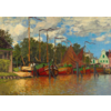 Bluebird Puzzle Claude Monet - Boten in Zaandam - 1000 stukjes
