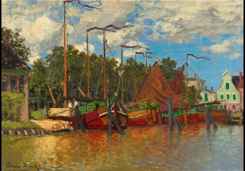 Bluebird Puzzle Claude Monet - Boats at Zaandam - 1000 pieces