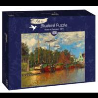 thumb-Claude Monet - Boten in Zaandam - 1000 stukjes-2